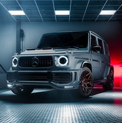 Mercedes G Wagon Sochi Steel
